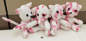 Plushies Crafted to Fight Breast Cancer 2 by guardian-of-moon