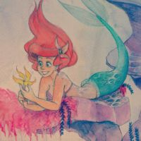The Little Mermaid - CLOSE UP PREVIEW by iruccha