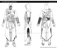 Altair Model Sheet by DanaArena