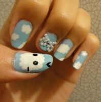 Sky Nails by wushini