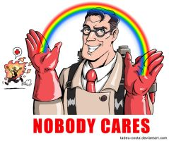 Team Fortress 2 - Nobody Cares by Tadeu-Costa