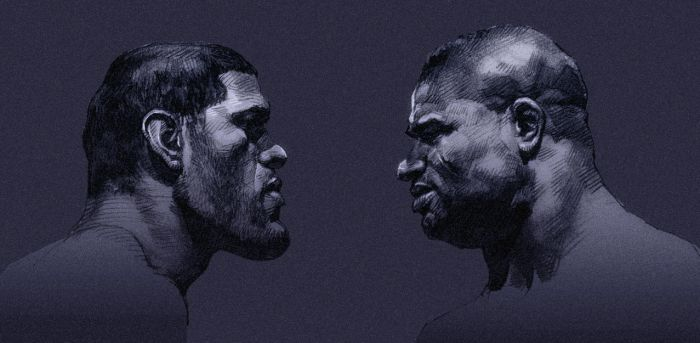 Antonio Silva vs Alistair Overeem by kse332