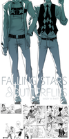 Falling Stars and Butteflies - Comic by clickmon