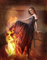 Drawn to the Flame by faryewing