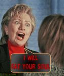 Hilary Clinton by SapphireGamgee