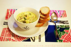 Smoky Mussel Chowder by oskila