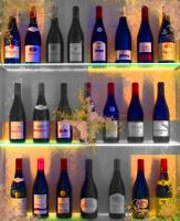 Bottles of Morgon by jacko56
