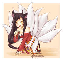 Ahri [League of Legends] by xStarrii