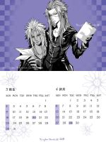 KHII  monthly calendar2 by Akuhen
