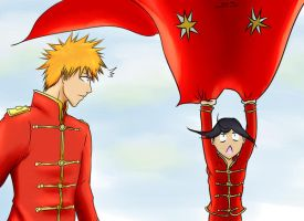 IchiRuki Week Day 3-You Should Hold on To Her... by PeachBerryDivision