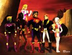Legion of Super Heroes by M3trisjm92