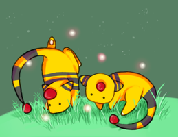 Ampharos by springonion