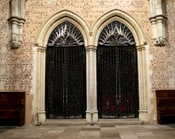 Winchester Great Hall Doors by OghamMoon