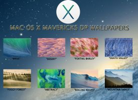 Mac OS X Mavericks DP Wallpapers Pack by TheNathanNS