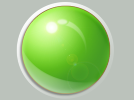 Green orb.. by funk-meister