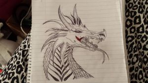 Dragon by Knight-Of-Blood1998