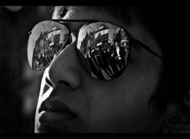 A Mobster Reflection by D0UbleF