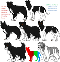 7-Way Mixed Breeds by Leonca