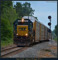 New Fords by classictrains