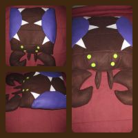 StarCraft Overlord Zerg Pillow by AztecTemplar