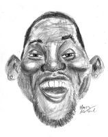 Will Smith Caricature by HarryMichael