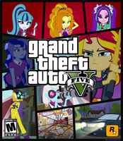 Equestria Girls Game Cover by IRUser