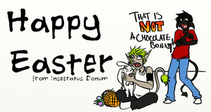 Not a Chocolate Bunny by LollyxBeans