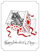 Valentine's Day card 2011 by TomRFoster