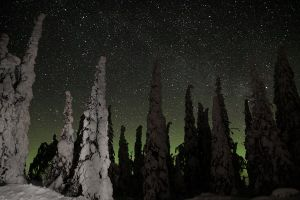 Northern Stars by mrfinlandia