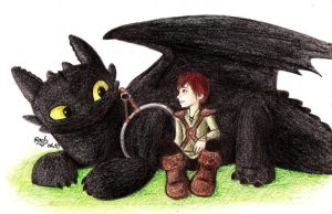 Toothless and Hiccup Manual by AnimeFanS2