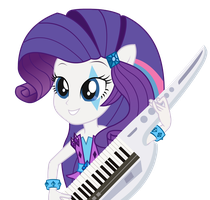 Rarity - Equestria Girl 2 Rainbow Rocks by negasun