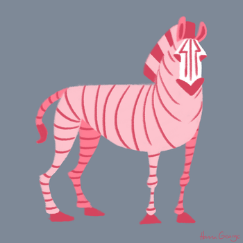 Strawberry Zebra by HannaGeorge