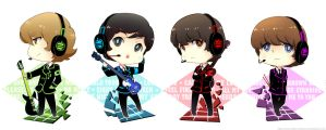 .: Digital Beatles :. by PepperMoonFlakes