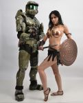 Chief and Warrior 1a by jagged-eye