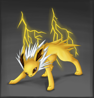 Jolteon by Psunna