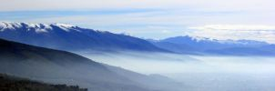 sea of fog and clouds by frei76