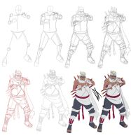 Step by step: Killer Bee by Johnny-Wolf