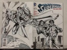 'Nother Superman Sketchcover by hdub7