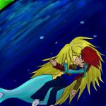 An Underwater Kiss of Passion by F-Stormer-3000
