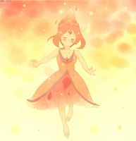 Art trade (AshleiMist)-Flame princess by Saya-chan98