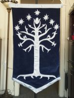 New and Improved White Tree Wall Hanging by WhimsicalSquidCo