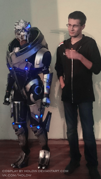Garrus cosplay (Mass Effect 3) by HoldW