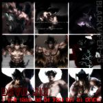 Devil Jin collage by JIN-XIA-HWO-ASK-STE