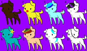 Puppies [open] by maplestoryroomates
