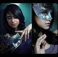 Mystic Masquerade Collage by artraged