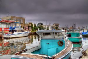 Mordialloc Boats by djzontheball