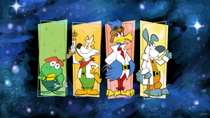 Hanna Barbera's Star Fox (classic team) by JonasDrawsStuff