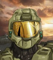 Halo Master chief by Gerardogarciaro