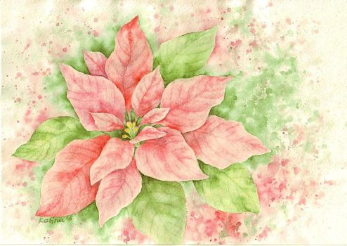 1279 Poinsettia by YourFavoriteRussian
