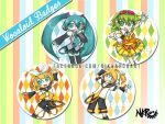 Button Badges: Vocaloid Set 1 by nikkaroo